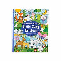 Coloring Book-Cozy Critter