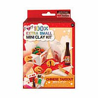 100% EXTRA SMALL CHINESE TAKE-OUT MINI CLAY KIT