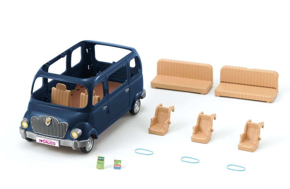 Calico Critters Family Seven Seater - Kidoodles Toy Zone