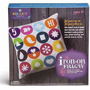 Craft-tastic Iron on Pillow