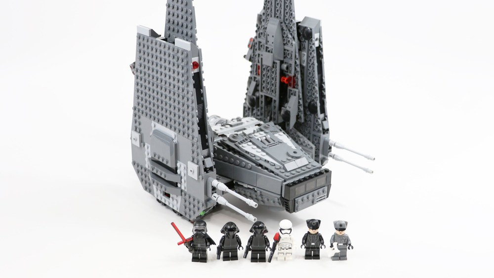 Lego Star Wars Kylo Rens Command Shuttle Kidoodles Toy Zone