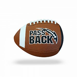 Pee-Wee Pass Back Football
