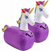 Hop 'n Go Unicorns Set of 2